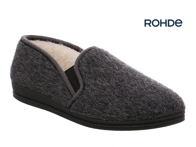 Rohde 2610-82 pantoffel grijs