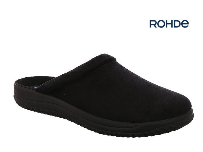 Rohde 2773-90 pantoffel zwart