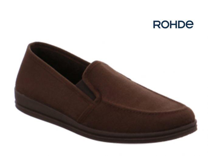 Rohde 2609-72 pantoffel bruin