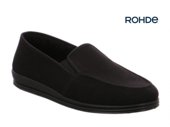 Rohde 2609-90 pantoffel zwart