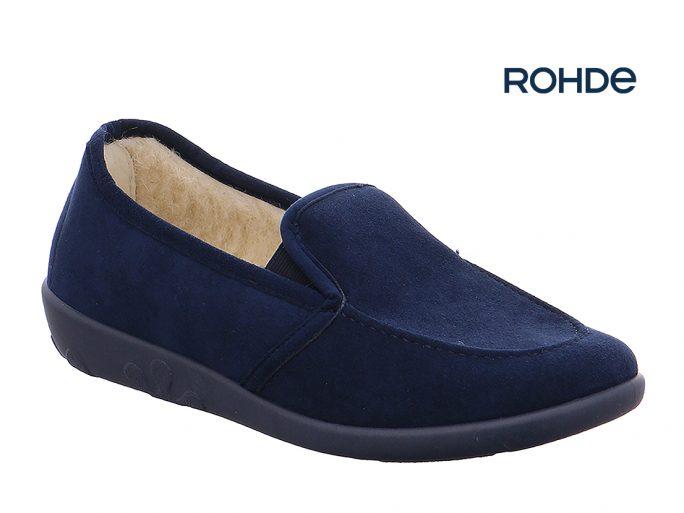 Rohde 2224-56 blauw pantoffel