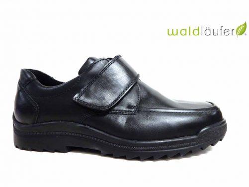Waldlaufer 613300 zwart klitband heren breed