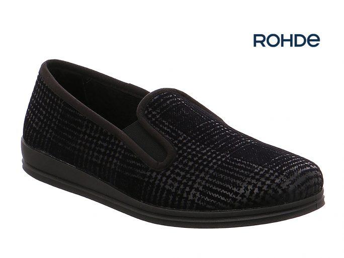 Rohde 2601-90 herenpantoffel zwart