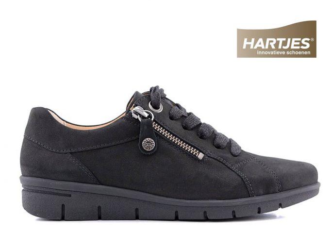 Hartjes 91262 sneaker zwart rits