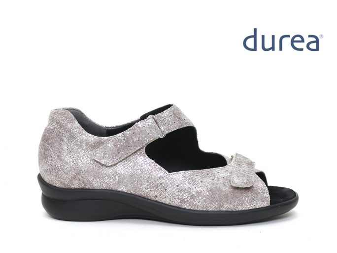 Durea 7362 sandaal dichte hak