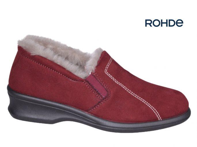 Rohde 2516-41 rood damespantoffel