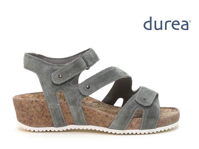 Durea 7385 sandalen H groen