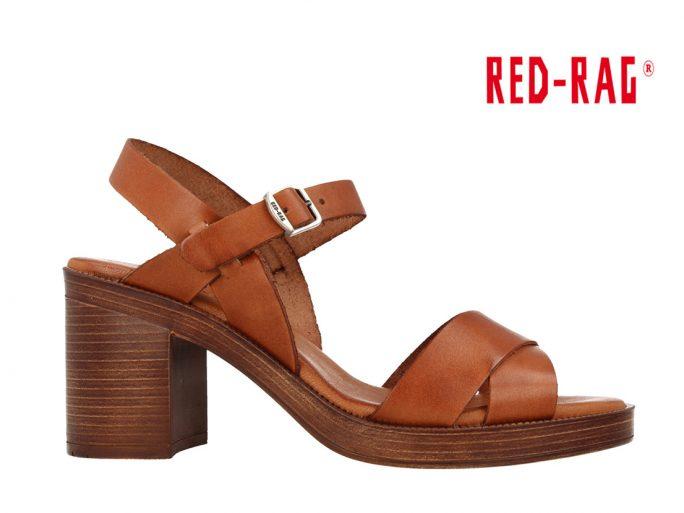 Red-Rag 79250 sandaal cognac
