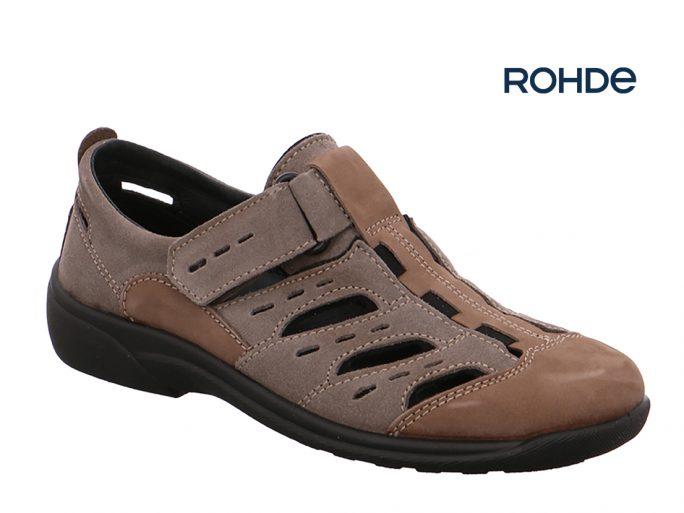 Rohde 1235-17 herensandaal dichte neus