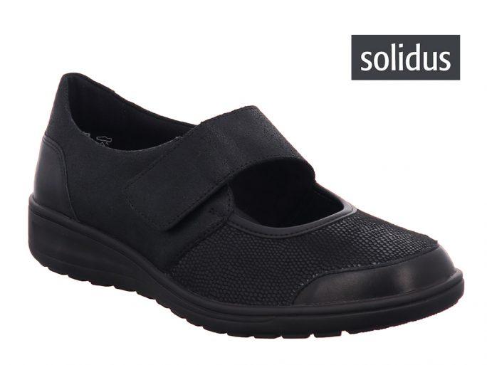 Solidus 29503 bandschoen K wijdte zwart