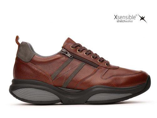 Xsensible stretchwalker SWX3 cognac leer