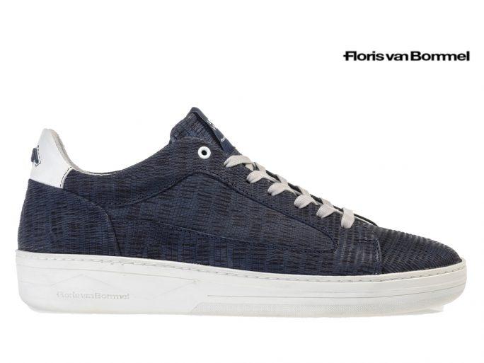 Floris van Bommel 13265/19 sneaker blauw