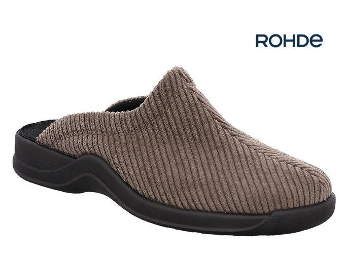 Rohde 2740 herenpantoffels beige