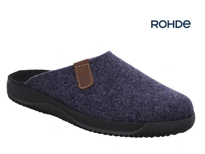 Rohde 2782 herenpantoffels blauw