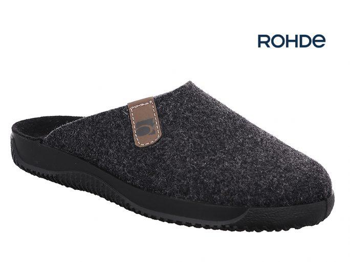 Rohde 2782 herenpantoffels grijs