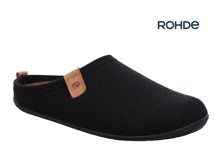Rohde 6920 herenpantoffels zwart